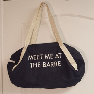 Private Party Barre Ballet Sports Bag NWOT